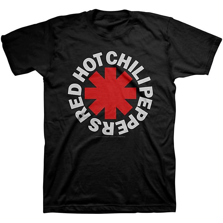 BravadoRed Hot Chili Peppers Asterisk Mens T-ShirtBlackSmall
