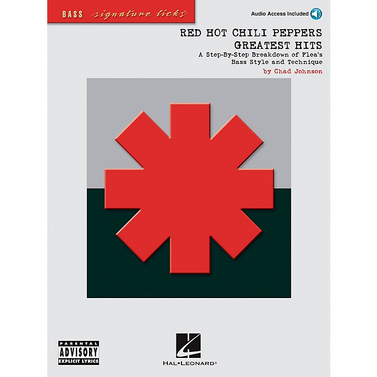 Hal LeonardRed Hot Chili Peppers Greatest Hits Bass Guitar Signature Licks Book with CD