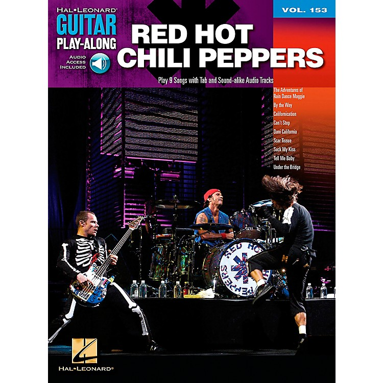 Hal LeonardRed Hot Chili Peppers Guitar Play-Along Volume 153 Book/CD