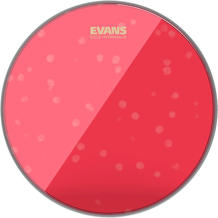 Evans Red Hydraulic Drum Head 12 in.