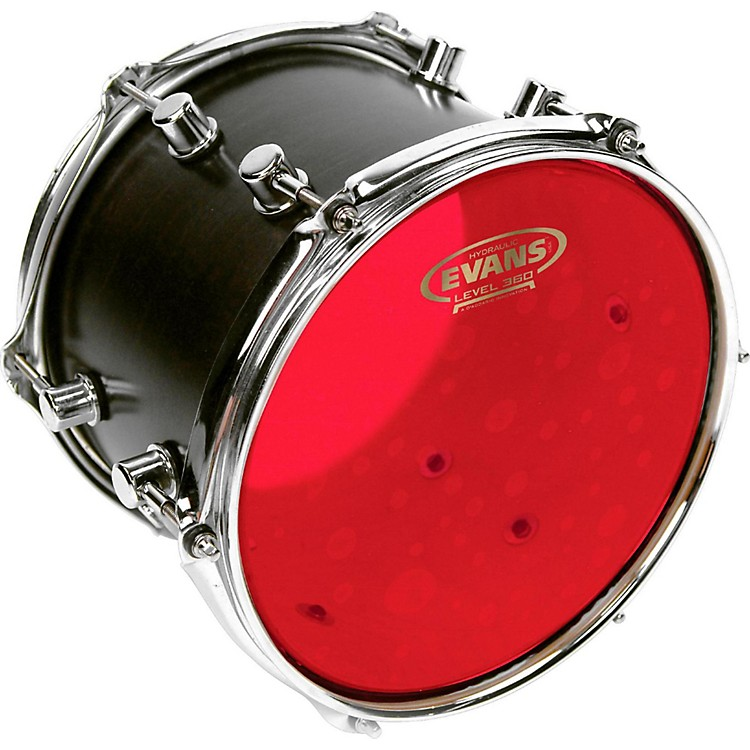 Evans Red Hydraulic Drum Head 18 in.