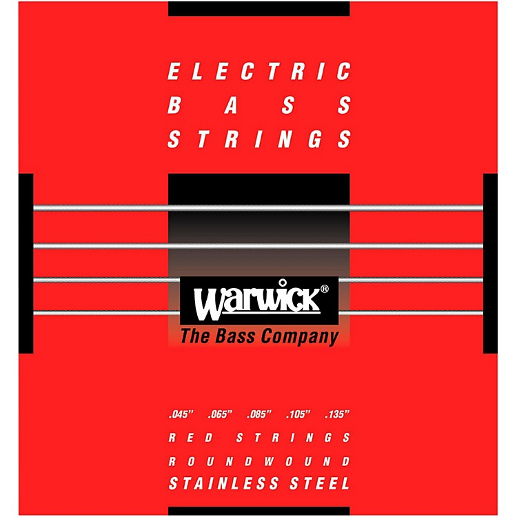 WarwickRed Label 5-String M Low B Stainless Steel Bass Strings
