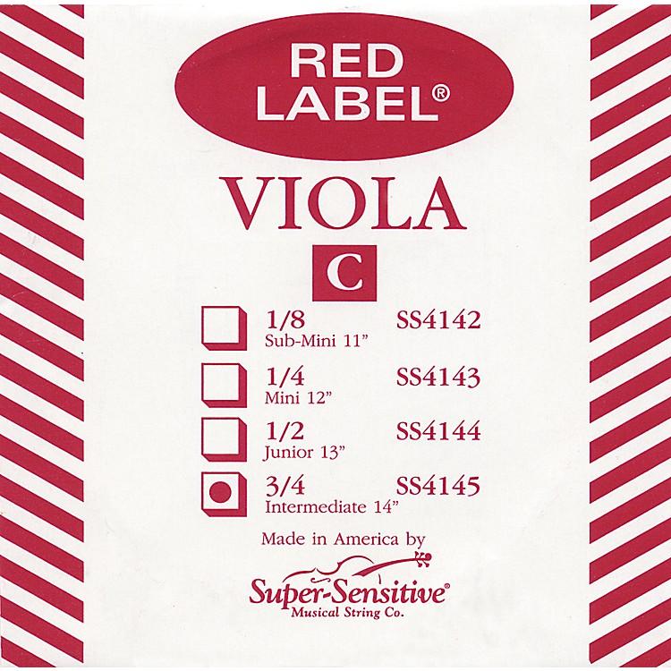 Super SensitiveRed Label Viola C StringIntermediate