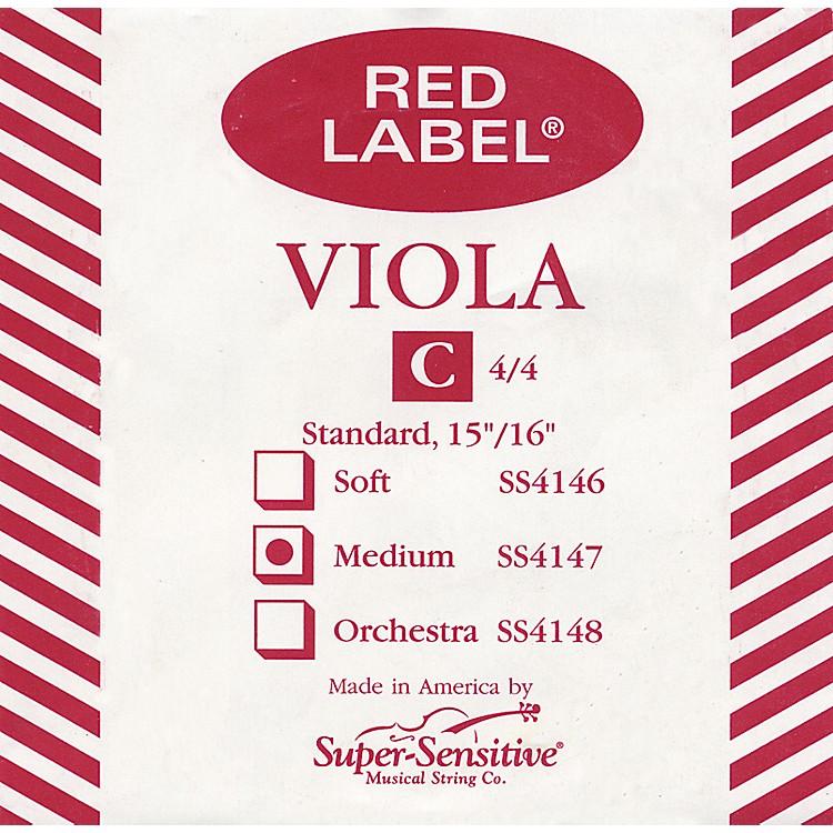 Super SensitiveRed Label Viola C StringMini (12-in.)