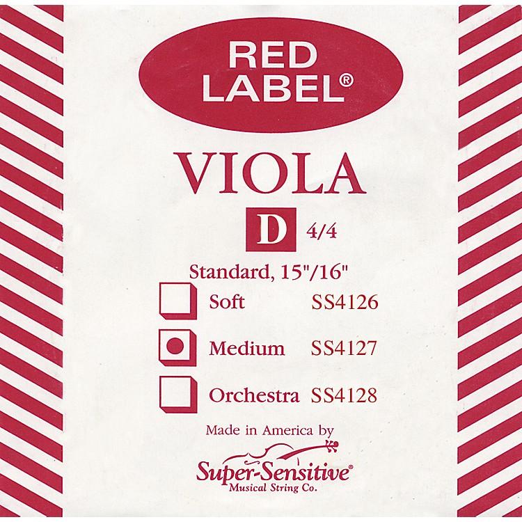 Super SensitiveRed Label Viola D StringFull