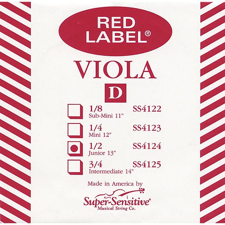 Super SensitiveRed Label Viola D StringMini (12-in.)