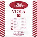 Super Sensitive Red Label Viola G String  Junior-thumbnail