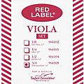 Super Sensitive Red Label Viola String Set