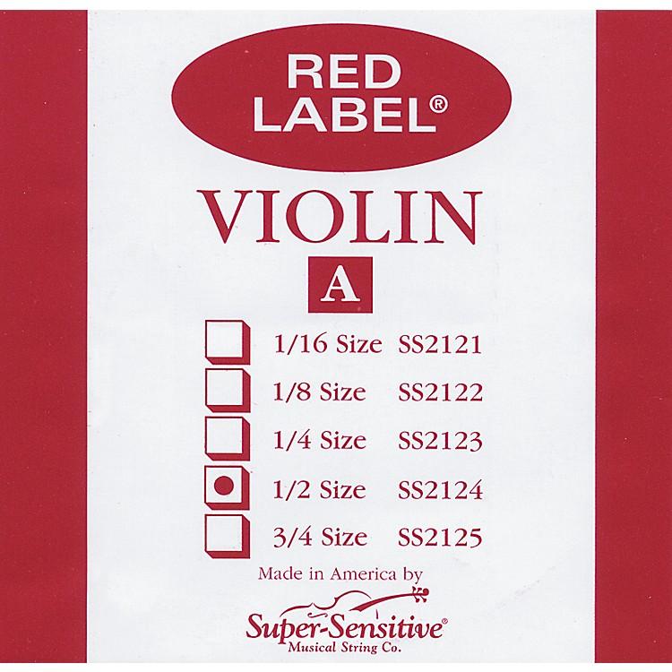 Super SensitiveRed Label Violin A String1/2