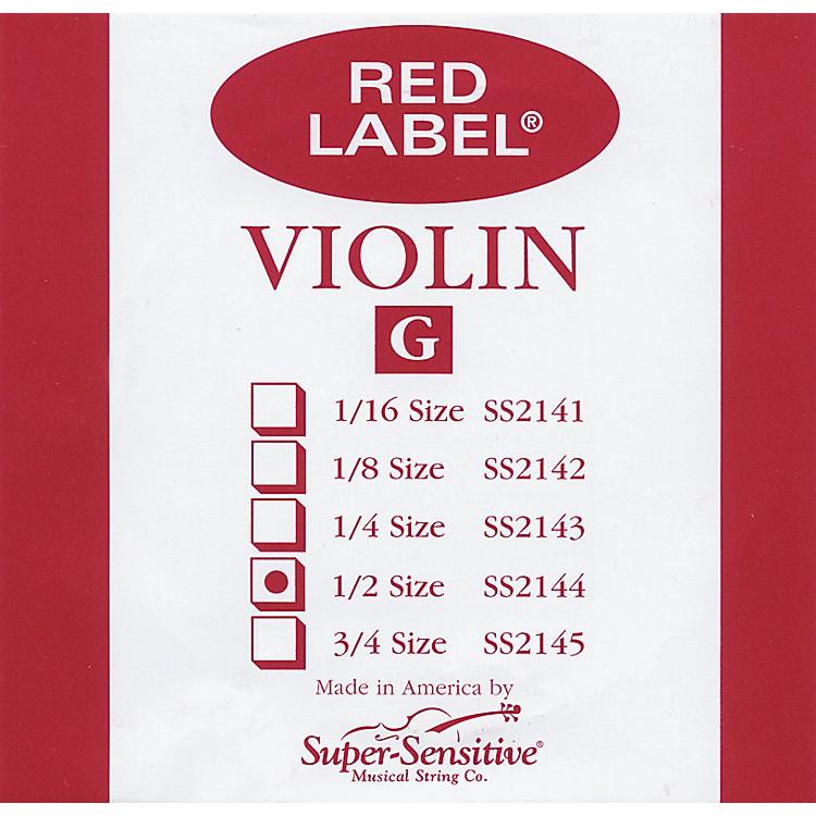 Super SensitiveRed Label Violin G String1/2