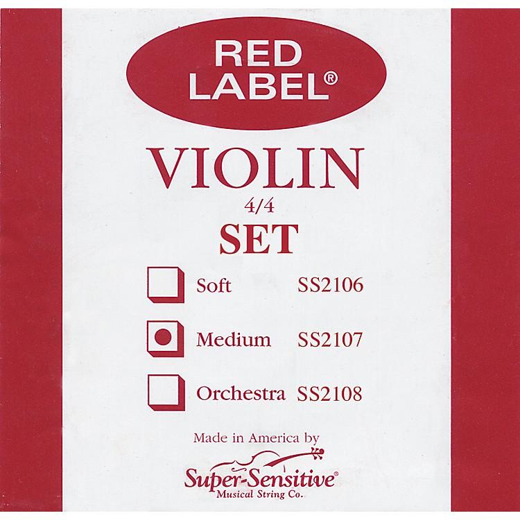 Super SensitiveRed Label Violin String Set4/4