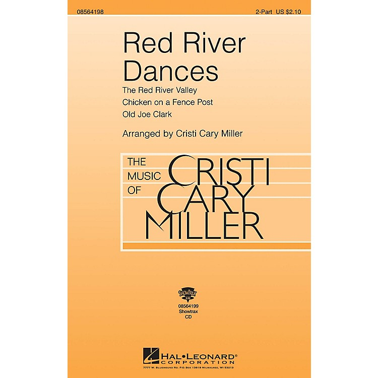 Hal LeonardRed River Dances ShowTrax CD Arranged by Cristi Cary Miller