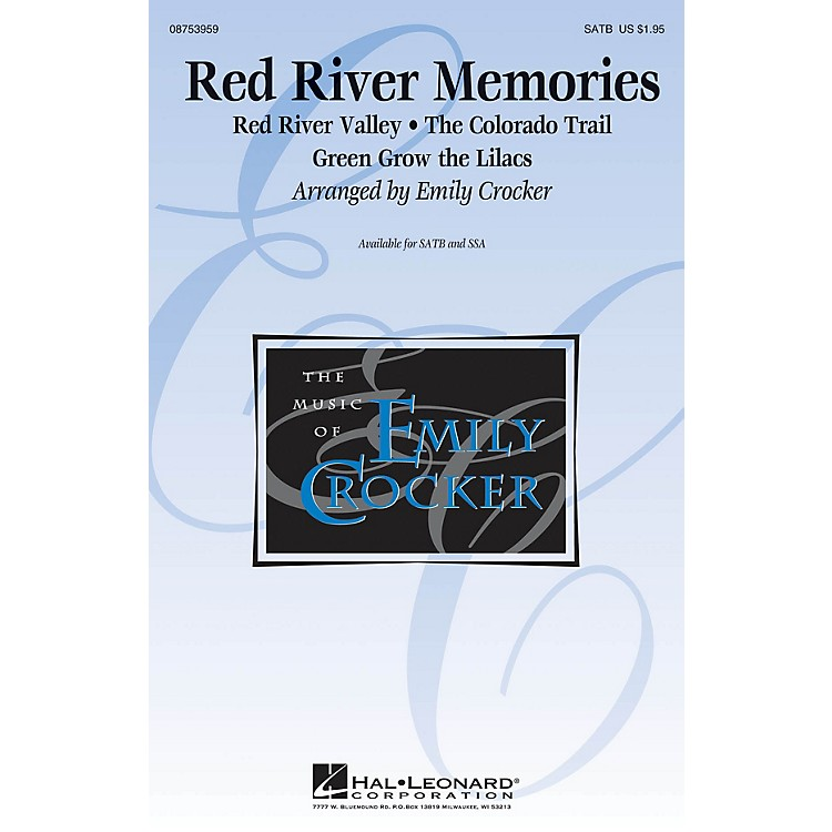 Hal LeonardRed River Memories (Medley) SSA Arranged by Emily Crocker