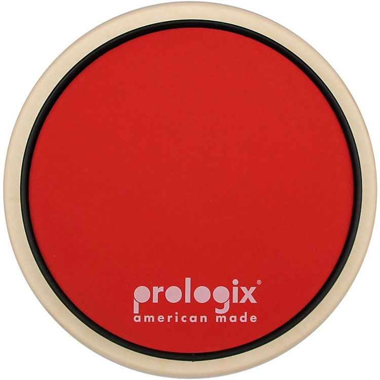 ProLogix PercussionRed Storm Practice Pad with Rim8 in.