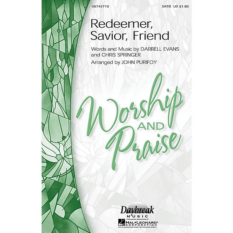 Hal LeonardRedeemer, Savior, Friend CHOIRTRAX CD Arranged by John Purifoy