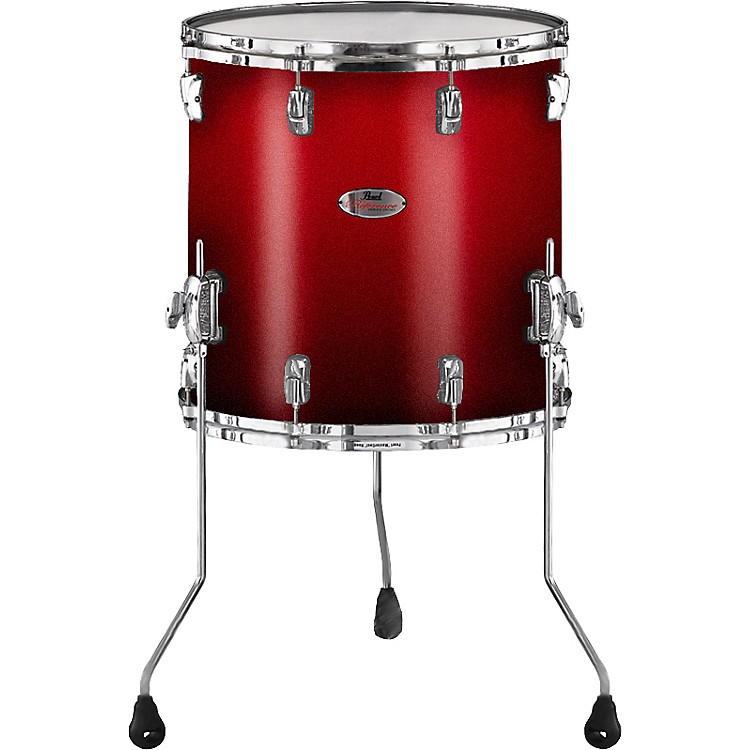 Pearl Reference Floor Tom Drum Scarlet Fade 16 x 16 in.