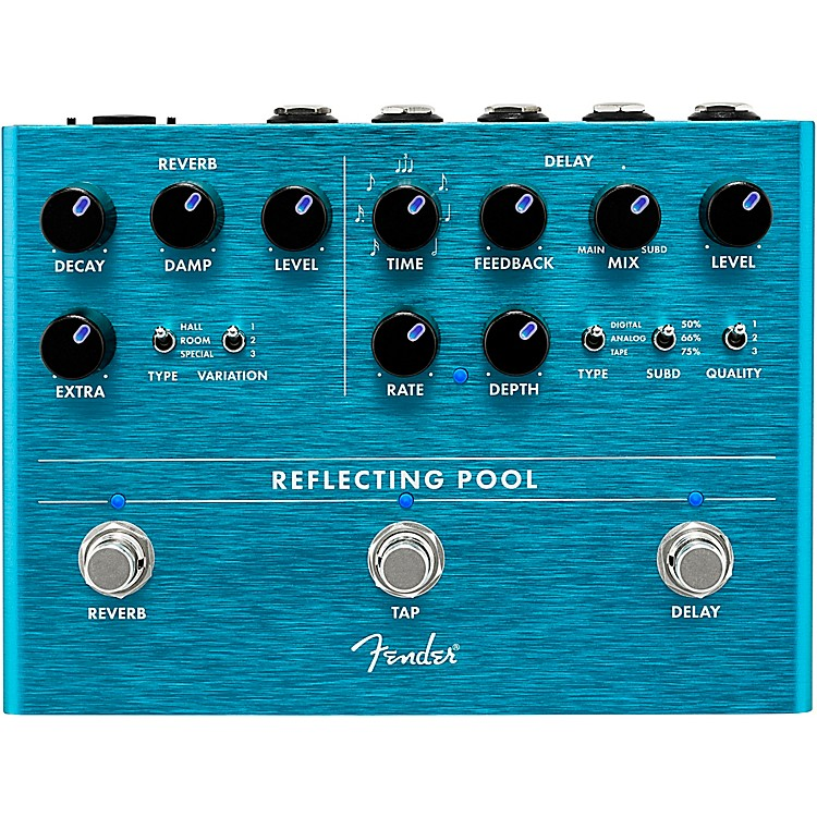 FenderReflecting Pool Delay & Reverb Effects Pedal