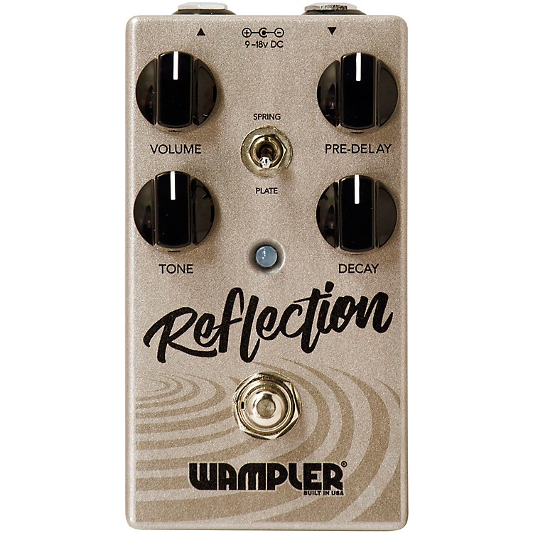 Wampler Reflection Reverb Effects Pedal