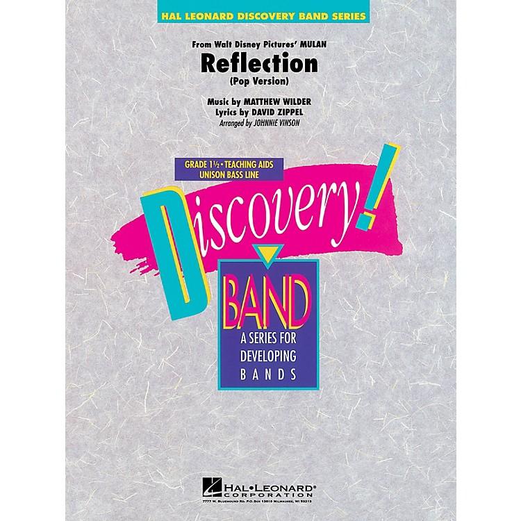 Hal LeonardReflection (from Mulan) Concert Band Level 1 1/2 Arranged by Johnnie Vinson