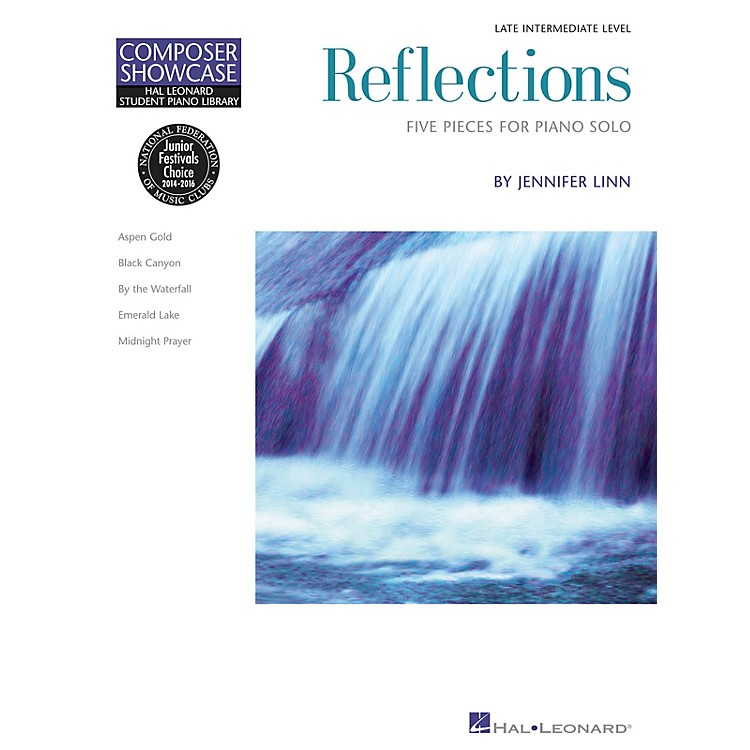 Hal Leonard Reflections Educational Piano Library Series Softcover Composed by Jennifer Linn