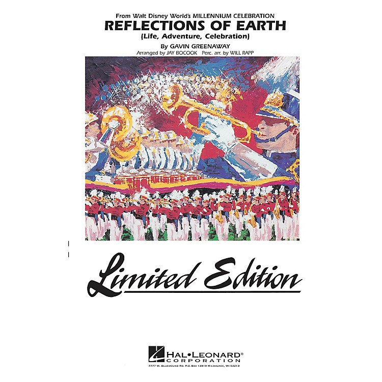Hal LeonardReflections of Earth Marching Band Level 5 Arranged by Jay Bocook