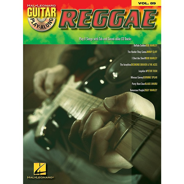 Hal LeonardReggae (Guitar Play-Along Volume 89) Guitar Play-Along Series Softcover with CD