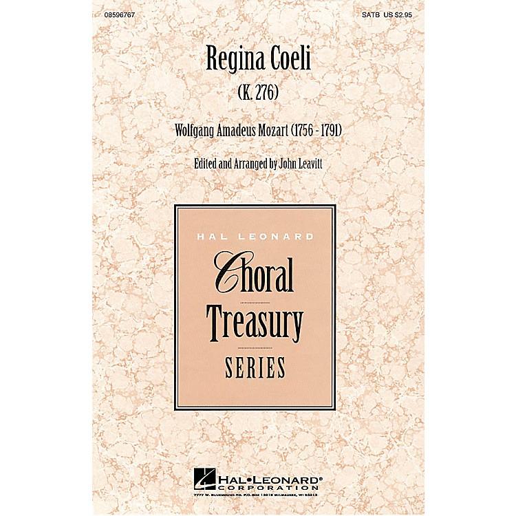 Hal LeonardRegina Coeli SATB composed by Wolfgang Amadeus Mozart