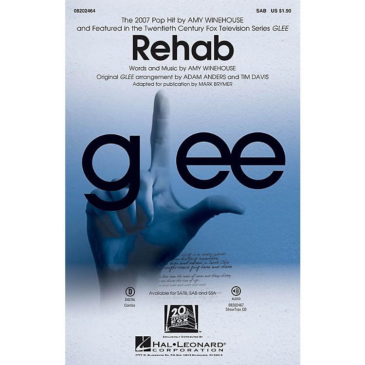 Hal LeonardRehab (from Glee) SAB by Amy Winehouse arranged by Mark Brymer