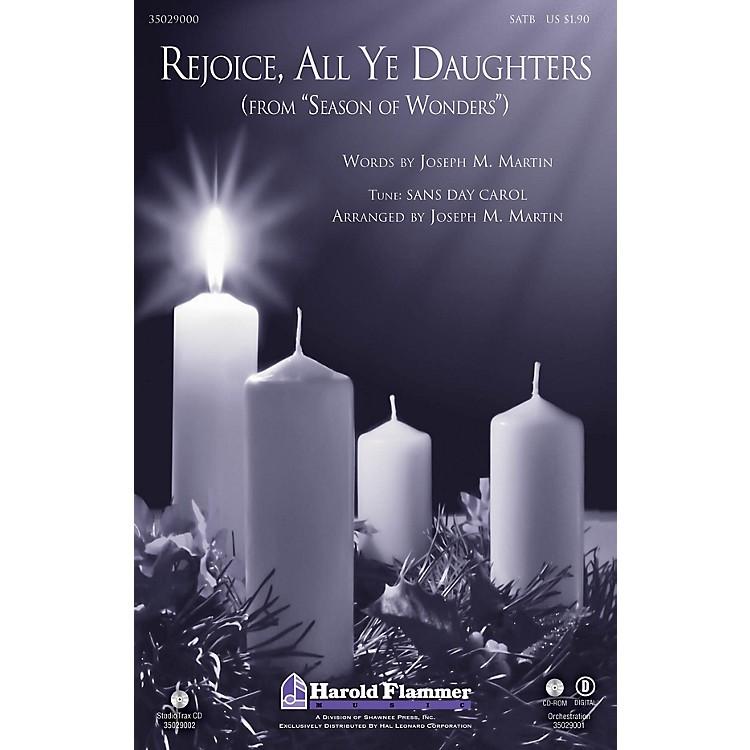 Shawnee PressRejoice, All Ye Daughters (from Season of Wonders) Studiotrax CD Arranged by Joseph M. Martin