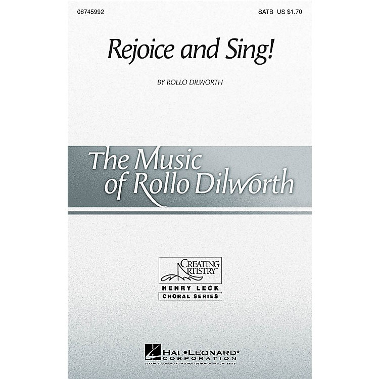 Hal Leonard Rejoice and Sing! 2-Part Composed by Rollo Dilworth
