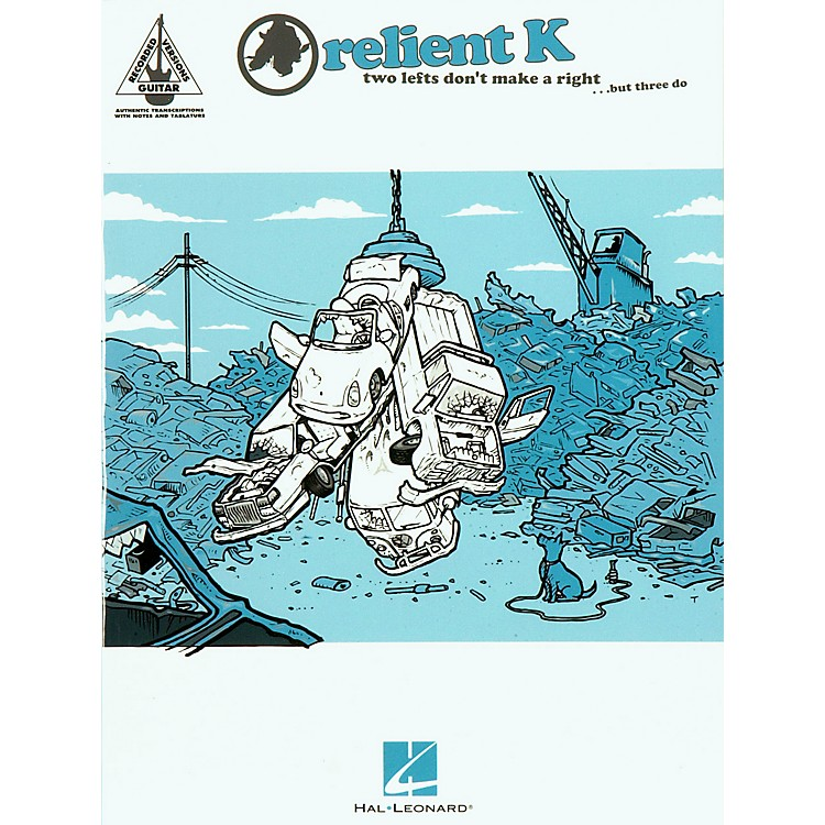 Hal Leonard Relient K Two Lefts Don't Make a Right ...But Three Do Guitar Tab Songbook