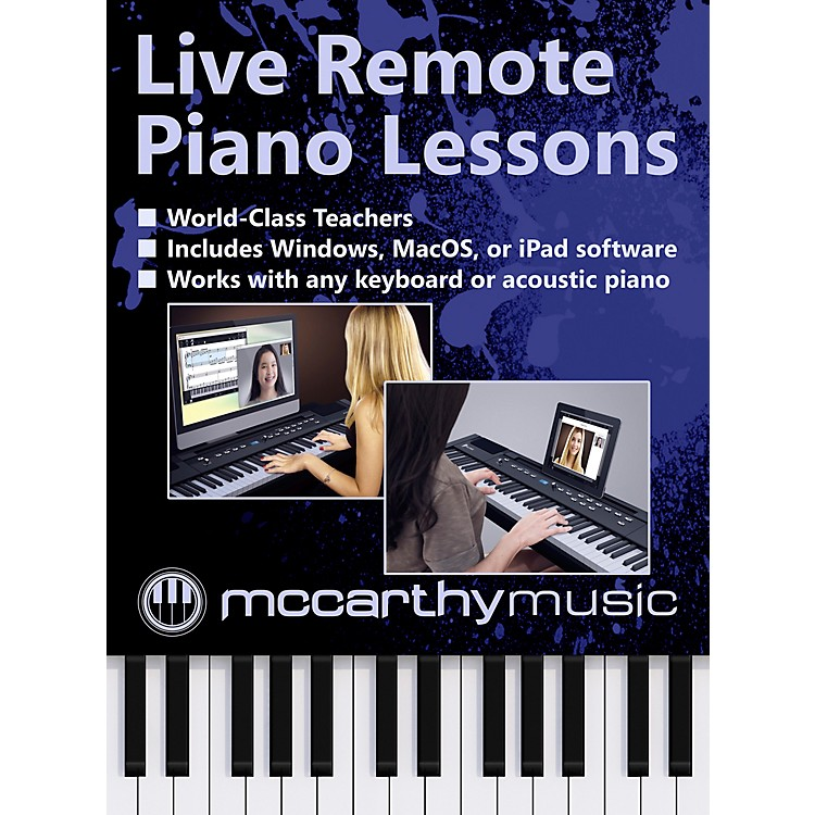 McCarthy Music Remote Live Piano Lessons