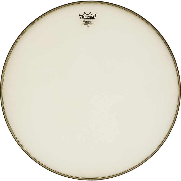 Remo Renaissance Hazy Timpani Drum Heads 22 in., Steel Insert Ring