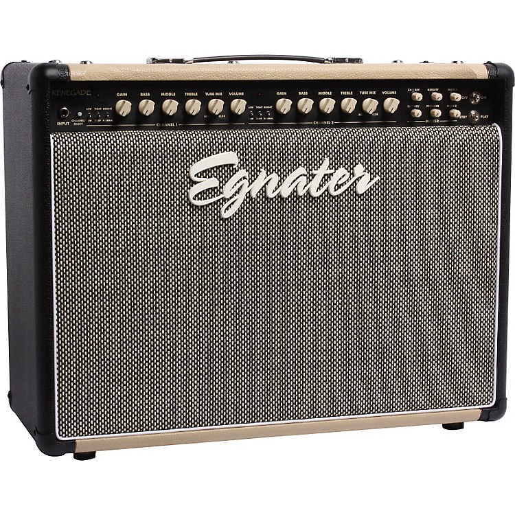 Egnater Renegade 112 65W 1x12 Tube Guitar Combo Amp Black, Beige