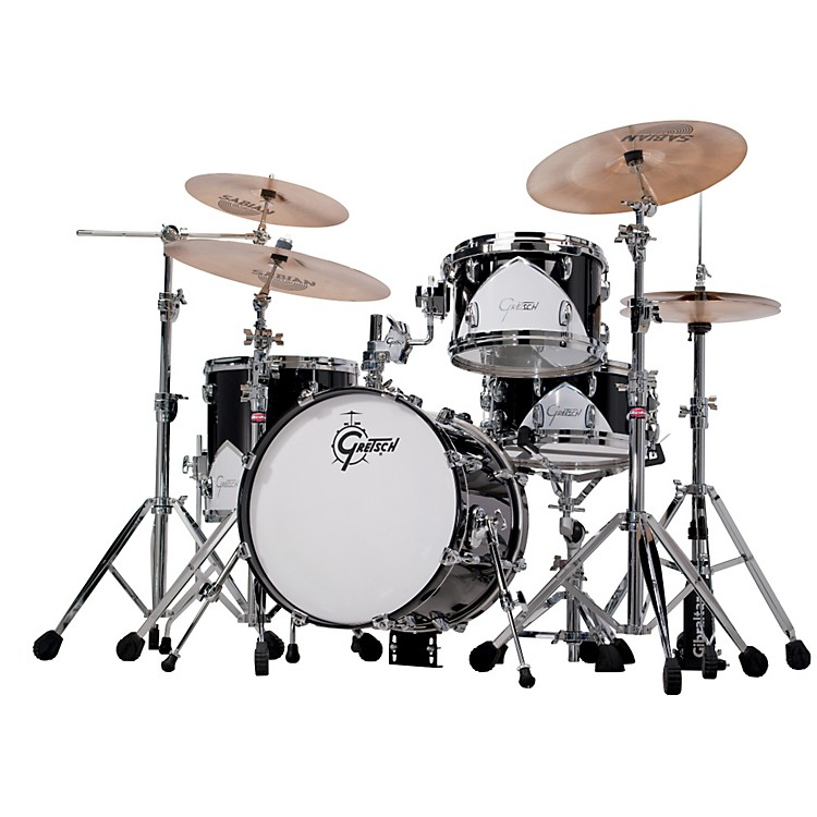 Gretsch DrumsRenown 57 BOP 4-Piece Shell PackMotor City Black