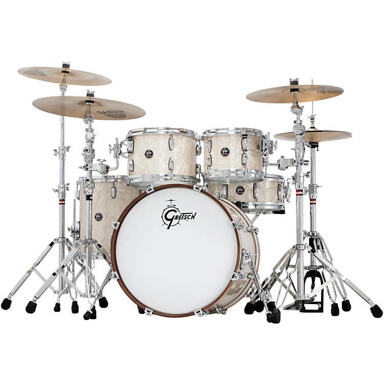 Gretsch DrumsRenown Series 4-Piece Shell PackVintage Pearl