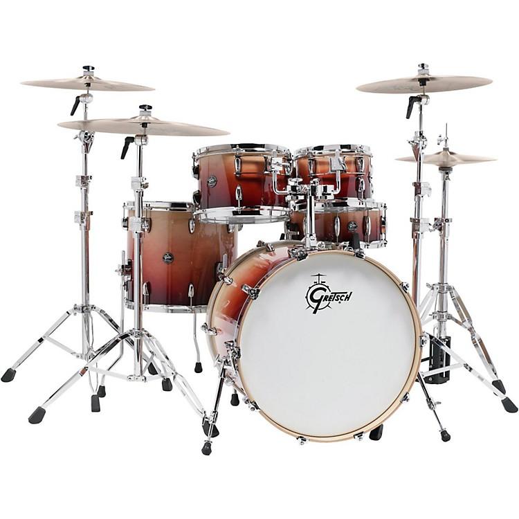Gretsch DrumsRenown Series Maple 5-Piece Shell PackNatural Walnut Fade