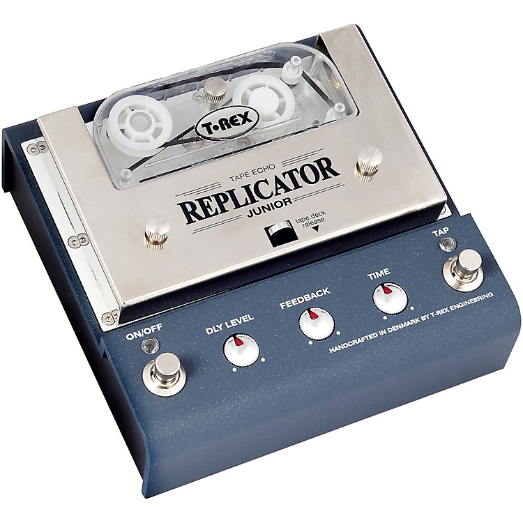 t rex engineering replicator junior analog tape echo delay effects pedal music123. Black Bedroom Furniture Sets. Home Design Ideas