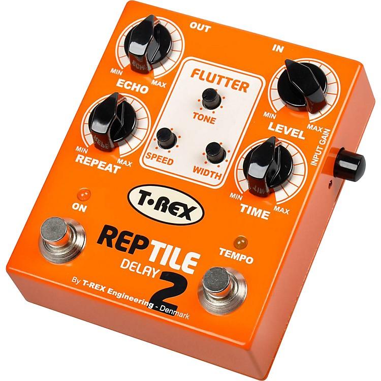 T-Rex EngineeringReptile 2 Digital Delay Guitar Effects PedalOrange
