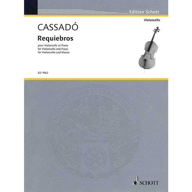 SchottRequiebros (Cello and Piano) Schott Series
