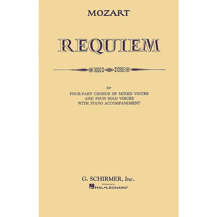 G. SchirmerRequiem (SATB) SATB composed by Wolfgang Amadeus Mozart