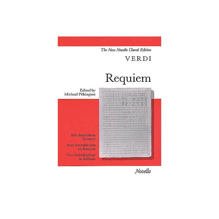NovelloRequiem (Vocal Score) SATB Composed by Giuseppe Verdi