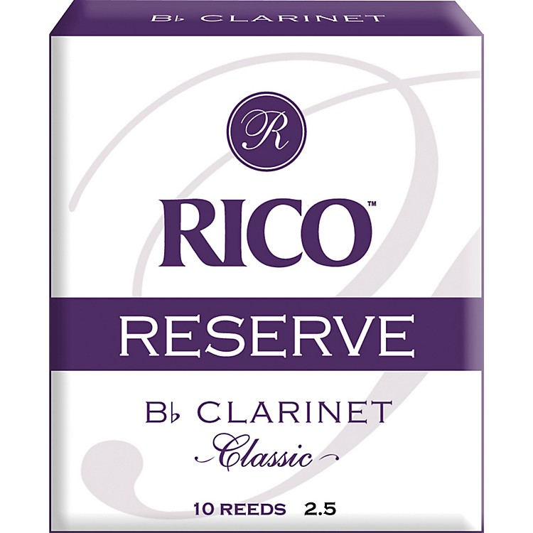 RicoReserve Classic Bb Clarinet Reeds