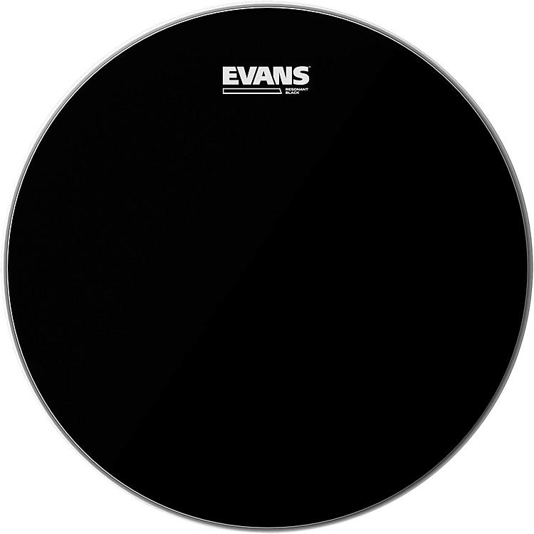 EvansResonant Black Tom Drumhead14 in.