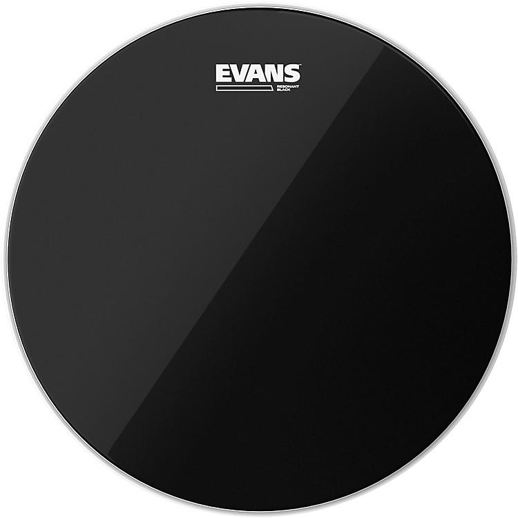 EvansResonant Black Tom Drumhead18 in.