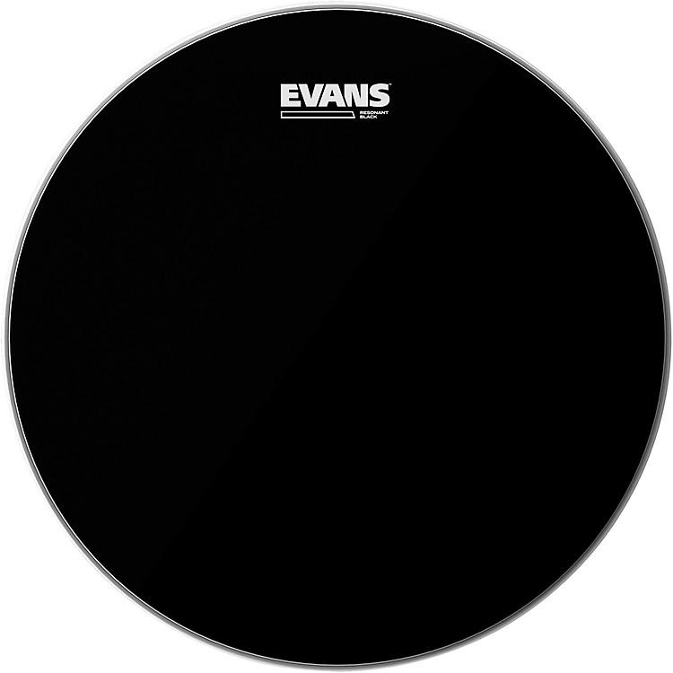 EvansResonant Black Tom Drumhead8 in.