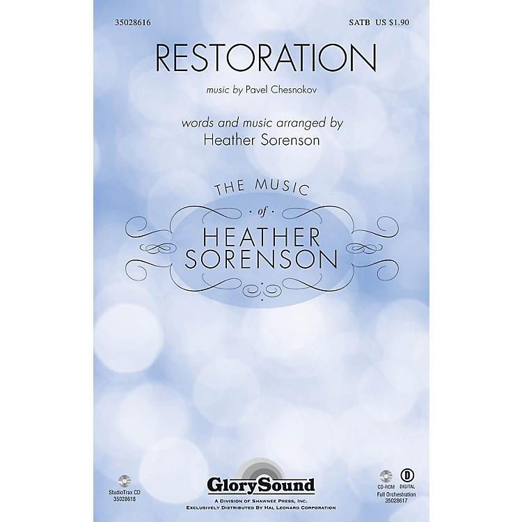 Shawnee PressRestoration Studiotrax CD Composed by Pavel Chesnokov