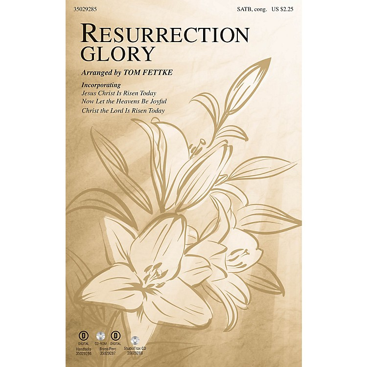 Shawnee Press Resurrection Glory SATB arranged by Tom Fettke