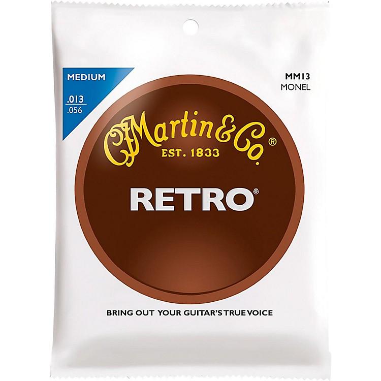 MartinRetro Acoustic Guitar Strings Medium Gauge
