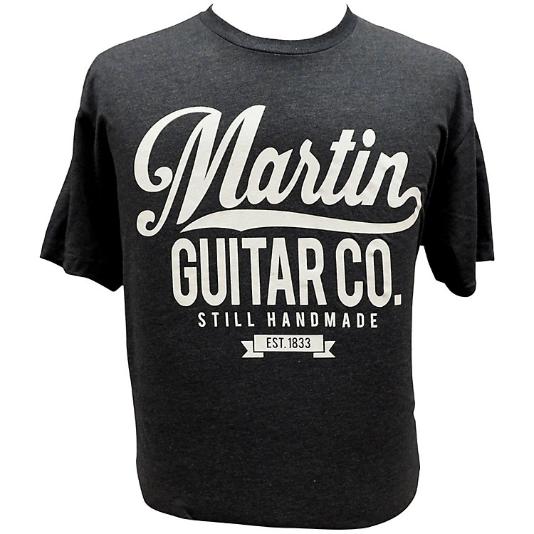 Martin Retro T-Shirt Large Midnight Navy